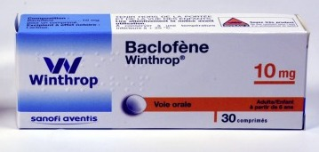 baclofene en France